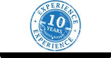 Weil mehr als 10 Jahre Erfahrung
